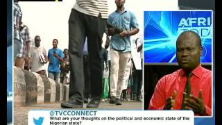 AFRICA TODAY ON POLITICAL DEVELOPMENTS IN NIGERIA WITH TOSIN AKANDE AND EMEKA DAVID