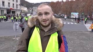 Manifestation des gilets jaunes Vienne 17 Novembre 2018