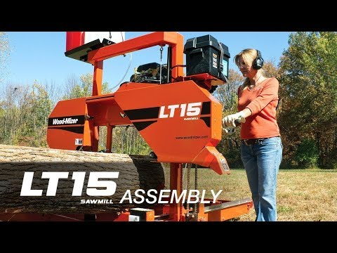 LT15 Portable Sawmill Assembly | Wood-Mizer