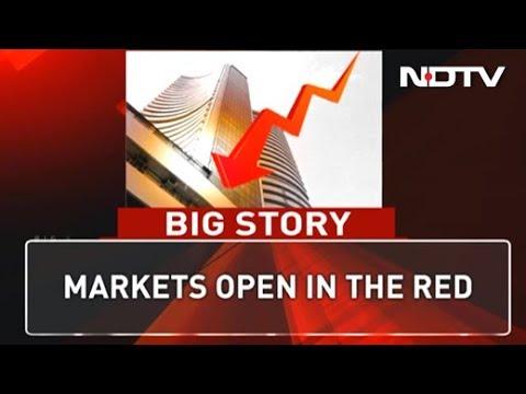 Sensex Drops Over 250 Points, Nifty Slides Below 11,000