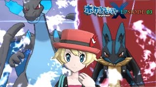 Pokemon X | Epsiode 03 | 前回提要 with Opening Mad