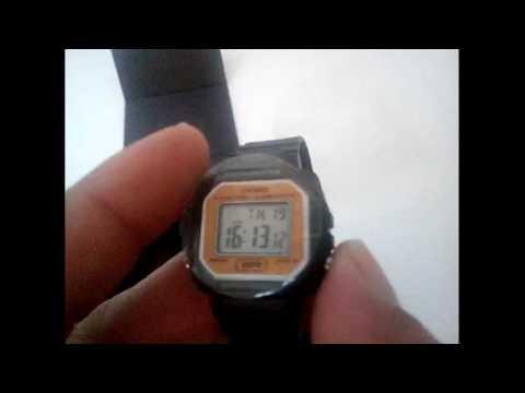 9ca468b2572 Relógio Casio LA-20WH-9ADF Digital Preto Dourado - www.gigastorenet.com.br