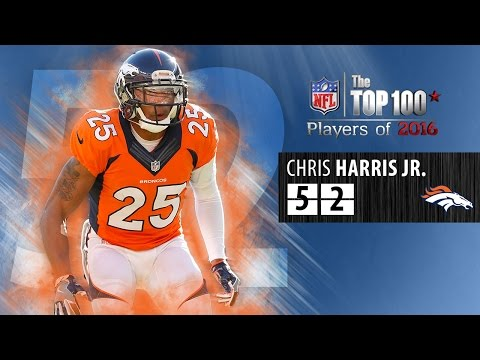 #52: Chris Harris Jr. (CB, Broncos) | Top 100 NFL Players of 2016