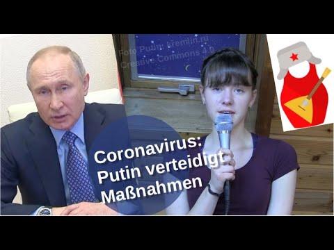Coronavirus: Putin verteidigt Maßnahmen
