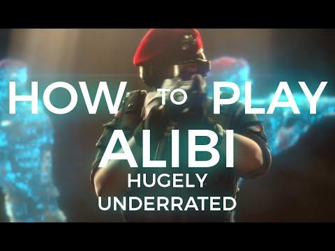 How to play Alibi (Rainbow Six Siege Guide)