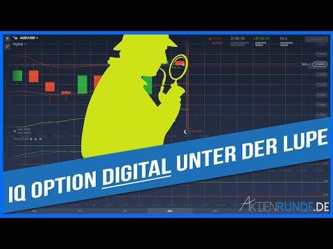 IQ Option Digital weiter unter der Lupe - ohne Probleme traden