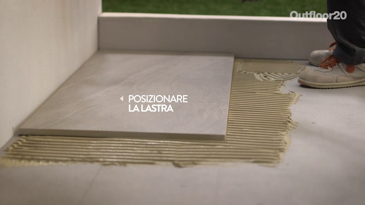 Outfloor posa su massetto youtube
