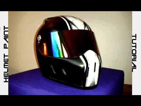 Custom Paint Job Motorcycle Helmet