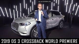 2019 DS 3 Crossback reveal at the DS Design Studio in Paris