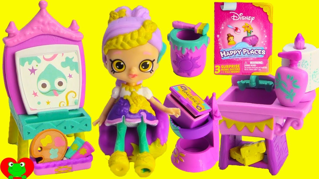 Disney Princess Rapunzel Happy Places Surprises - YouTube
