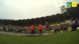 Supporters Nantais  Ambiance du derby !   (Bordeau