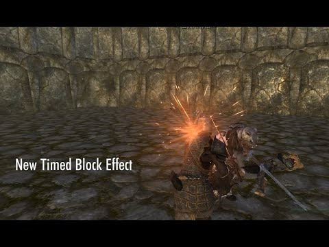 Ultimate Combat 3.5 New Timed Block Effect