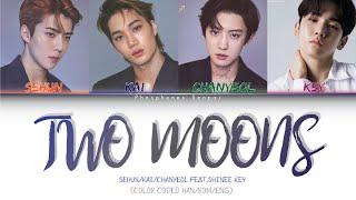 EXO ft. SHINee Key 'Two Moons' (두 개의 달이 뜨는 밤) Lyrics (Color Coded Han/Rom/Eng)
