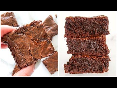 Paleo Brownies   fudgey healthy dessert recipe