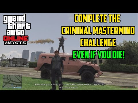 how to become a mastermind criminal