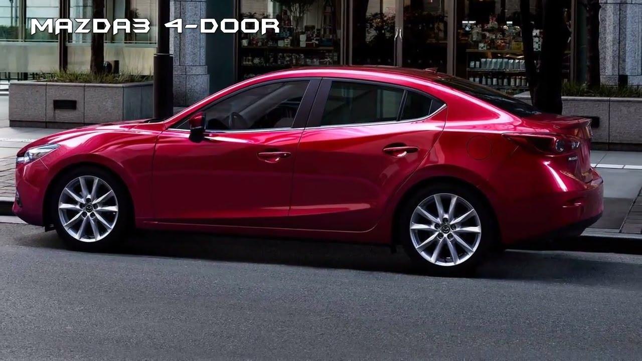 Debuts With Sharper Looks : 2017 Mazda 3 4 Door   Exterior Interior