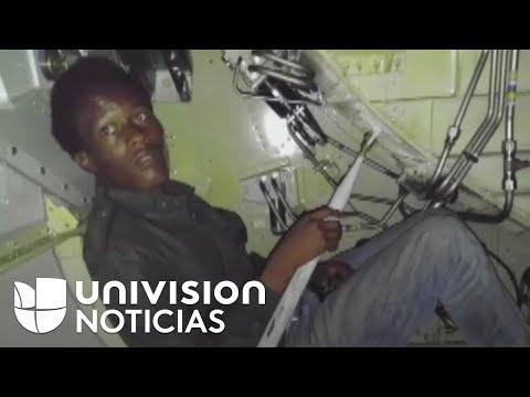 Polizón explica cómo viajó de República Dominicana a Miami en el tren de aterrizaje de un avión