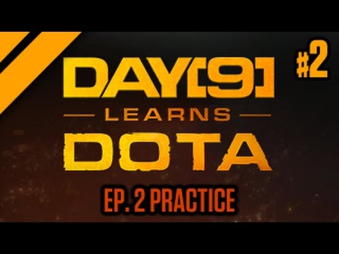 Day[9] Learns Dota - 2. Laning pt. 2 & Trading (Practice)