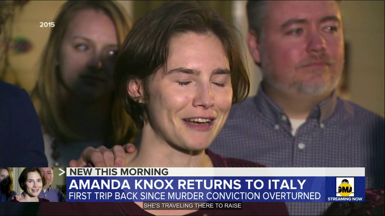 GMA - Amanda Knox returns to Italy years after her harrowing murder case