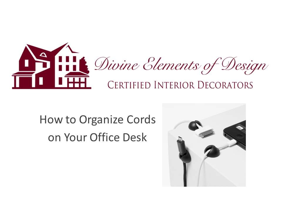 How to organize the cords on your desk youtube - How to organize cables on desk ...