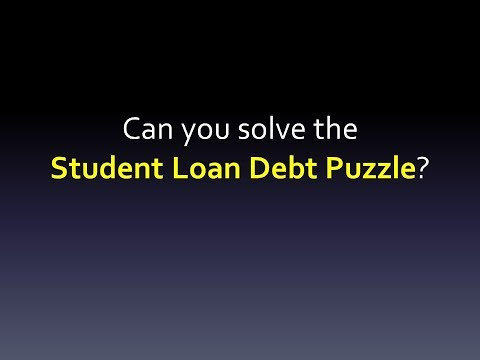 (CC) The Student Loan Debt Puzzle (Avoiding student loan debt in the first place)