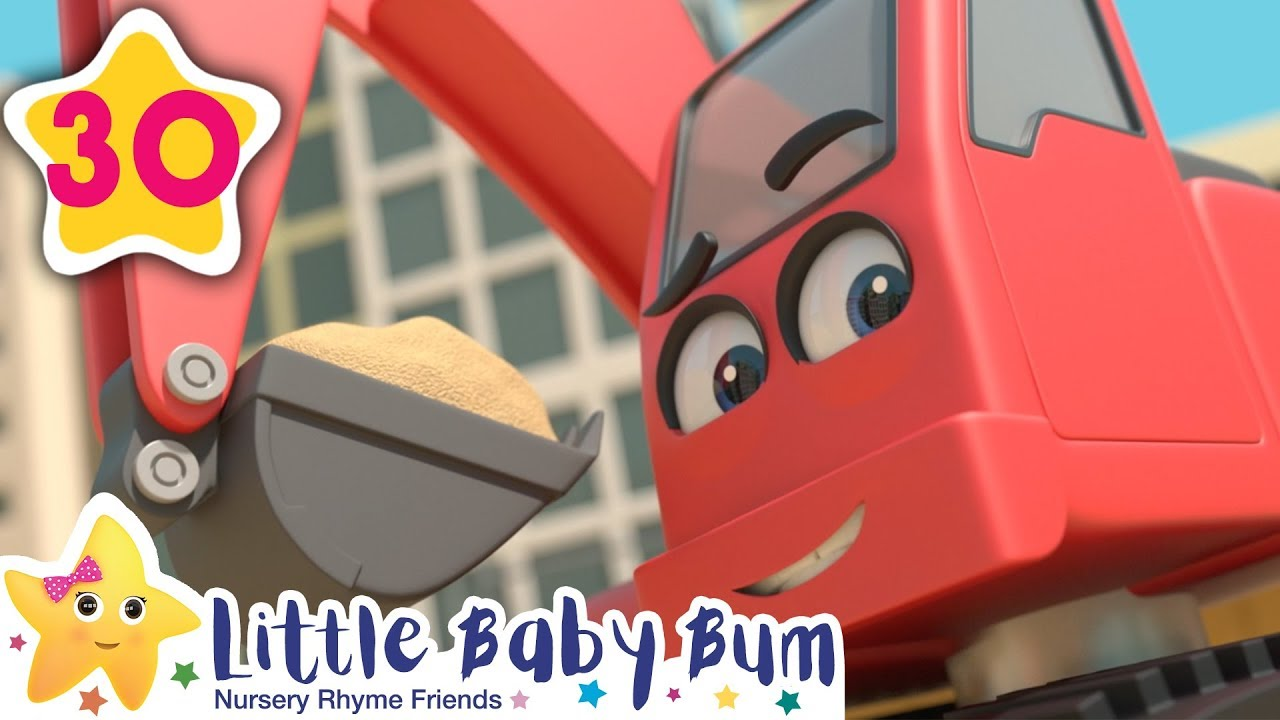 BUILDING SITE | Kids Songs | Little Baby Bum | ABCs and 123s
