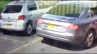 Roban llanta a carro en menos de 3 segundos