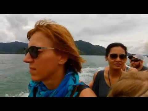 Our boat trip in Khao Sok National Park Thailand