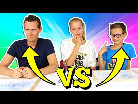 Who Knows Karina Better?!? DAD vs RONALD