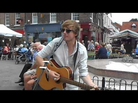 Ash Harding - York city Centre - Maggie May(Rod Stewart Cover)