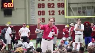 "NICK SABAN ""BE UNCOMMON"" speech at football camp | NSFB | ALABAMA Football"