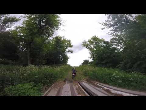 20170617 JT and Jeff Chase Jim F. on North Loop at Brushpoppers Thank You Ride