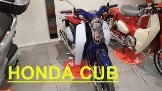 цены на новые скутера и б/у мотоциклы, новая Honda Cub 2019