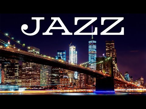 Smooth Night Jazz Playlist - Easy Listening JAZZ &  Lights of Night City - Night Traffic JAZZ