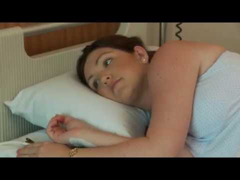 Getting in and out of bed after birth | Recovery after caesarean birth | Mater Mothers