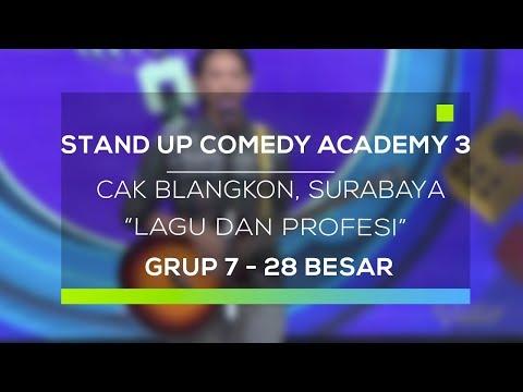 Download Youtube: Stand Up Comedy Academy 3 : Cak Blangkon, Surabaya - Lagu dan Profesi