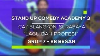 Stand Up Comedy Academy 3 : Cak Blangkon, Surabaya - Lagu dan Profesi