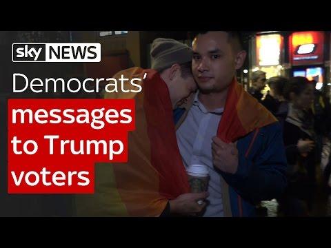 Democrats' messages to Trump voters