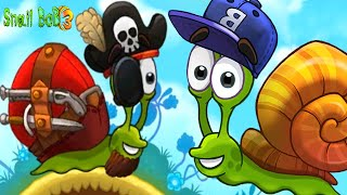 Snail Bob 3 Gameplay Walkthrough Part 2- Pirate Snail Puzzle Hints ( ios, Android )