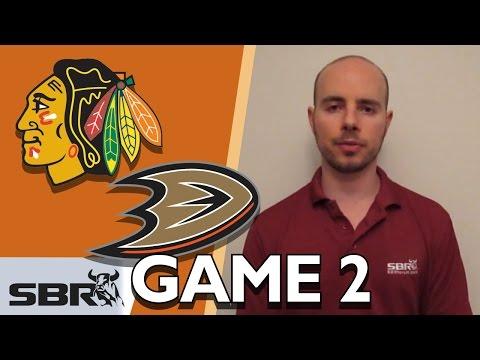 Blackhawks vs. Ducks Game 2 NHL Picks
