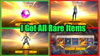 Free Fire I Got All Rare Items In One Day Tricks Tamil | I Take All Dresses In One Day Tricks Tamil