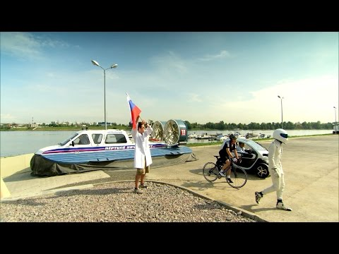 Race across Saint Petersburg - An Evening With Top Gear - BBC Two