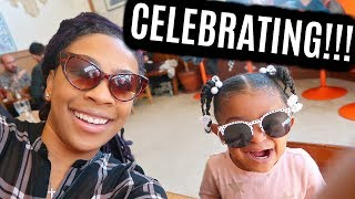 IT'S HIS BIRTHDAY!!! | SKYLAR LOVES TO SHOP! | WE GET A FLAT TIRE!