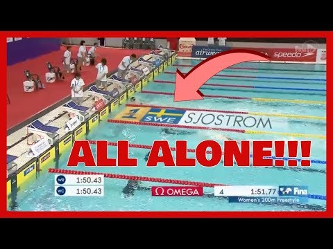 SARAH SJÖSTRÖM WINS 200MFREESTYLE - Swimming World Cup 2017 (race video)