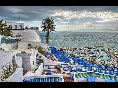 جولة سياحية في مدينة الحمامات التونسية Youtube