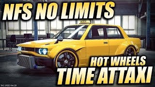 Hot Wheels Time Attaxi - Day 5: Time Attack - NFS No Limits (Bad Quality)