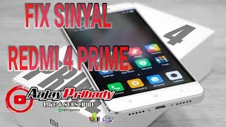 Cara Fix Sinyal No Network Redmi 4 Prada