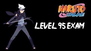 Naruto Online - Lightning Main - Level 95 Exam