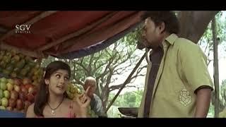 Sadhu Kokila Convincing Radhika Kumarswamy to Come Home | Auto Shankar Movie Comedy Scenes