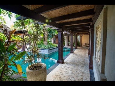 Te Manava Luxury Villas & Spa - 360° Presidential Villa Courtyard 2016